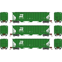 Athearn N PS 4427 Covered Hopper BN Late (3)