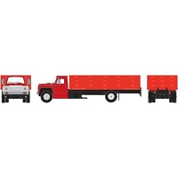 Athearn HO RTR Ford F-850 Grain Truck, Red