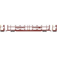 Athearn HO F89-F Bi-Level Auto Rack, GM&O #912789