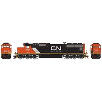 Athearn Genesis HO SD70, Canadian National (CN) #1031