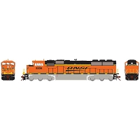 Athearn HO G2 SD60M Tri-Clops with DCC & Sound BNSF #9206