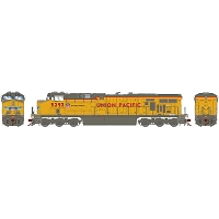Athearn Genesis HO ES44AC w/DCC & Sound, UP/No Flag #5293