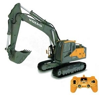 DOUBLE E R/C Volvo Excavator 1/16th Scale