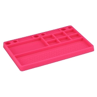 JConcepts Parts Tray Rubber Material, Pink