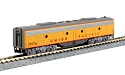 N EMD E9B - w/DCC -- Union Pacific #957B (Armour Yellow, gray)