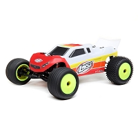 Losi 1/18 Mini-T 2.0 2WD Stadium Truck Brushless RTR - Red
