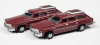 Classic Metal N 1976 Buick Estate Wagon - Assembled -- Independence Red Poly