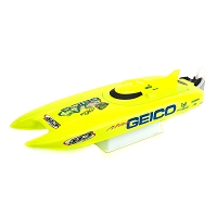 Proboat Miss Geico 17-inch Catamaran Brushed: RTR