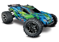 Rustler 4X4 VXL:  1/10 Scale Stadium Truck with TQi Traxxas Link Enabled 2.4GHz Radio System & Traxxas Stability Management (TSM)