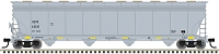 Atlas HO ACF 5800 4-Bay Plastics Covered Hopper - Ready to Run - Master(TM) -- Oxyvinyls OCPX 62531 (gray, black, yellow)