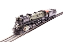 HO Great Northern S-2 4-8-4, #2581 with vestibule cab, Glacier Park, Paragon3 Sound/DC/DCC, Smoke