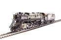 HO Great Northern S-2 4-8-4, #2577 with vestibule cab, Glacier Park, Paragon3 Sound/DC/DCC, Smoke