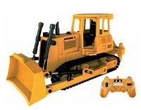 DOUBLE E R/C Bulldozer 1/20th Scale