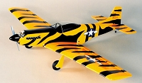 Herr P-51 Mustang 1/2a Balsa Airplane Kit