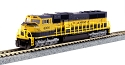 N EMD SD70MAC w/Nose Headlight - w/DCC -- Alaska Railroad #4006