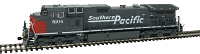 GE C44-9W - Standard DC -- Southern Pacific #8132 (gray, red)