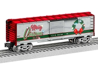 Lionel O  Christmas Light Express Boxcar