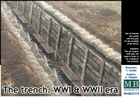 Master Box Models 1/35 The Trench WWI & WWII Era