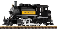 PIKO G Scale D&RGW 2-6-0T Loco 31