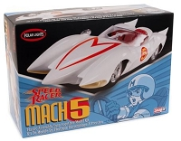 Polar Lights Speed Racer Mach V (Snap) 1:25 Scale Model Kit
