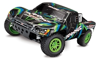 SLASH 4X4 1/10 Scale High-Performance 4X4 Short Course Truck With Brushed Titan 12T 550 and XL-5 ESC- ORANGE