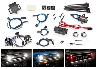 Traxxas 8090 - Blazer LED light set, complete with power supply (contains headlights, tail lights, side marker lights, & distribution block) (fits #9111 or 9112 body)