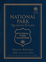 Whitman National Park Quarters 2010-21 Philadelphia & Denver Mint Deluxe Edition Coin Folder