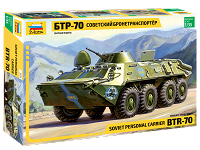 1/35 SOVIET BTR70 PERSONNEL CARRIER