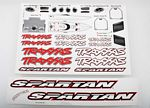 Decal sheet, Spartan