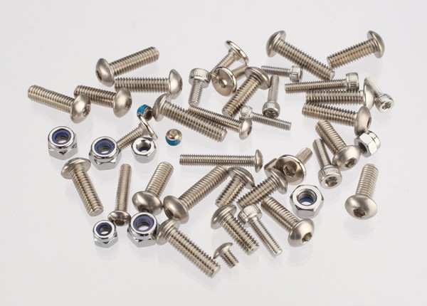 Hardware kit, stainless steel, Spartan (contains all stainless steel hardware used on Spartan)