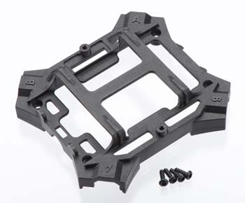 Main frame, lower (black) / 1.6x5mm BCS (self-tapping) (4)