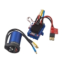 Velineon VXL-3s Brushless Power System, waterproof (includes VXL-3s waterproof ESC, Velineon 3500 motor, and speed control mounting plate (part #3725))