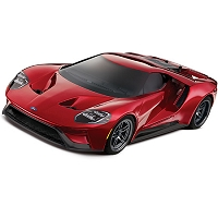 Ford GT®: 1/10 Scale AWD Supercar with TQi Traxxas Link Enabled 2.4GHz Radio System & Traxxas Stability Management (TSM)