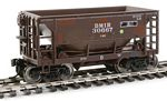 24' Minnesota Ore Car 6-Pack - Ready to Run -- Duluth, Missabe & Iron Range Set #2 (Modern Scheme, Boxcar Red)