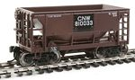 24' Minnesota Ore Car 6-Pack - Ready to Run -- Chicago & North Western(TM) Set #1 (Patched Boxcar Red)