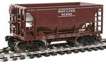 24' Minnesota Ore Car 6-Pack - Ready to Run -- Soo Line Set #1 (Boxcar Red, white)