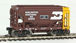 24' Minnesota Taconite Ore Car 4-Pack - Ready To Run -- Burlington Northern #95782, 95831, 95887, 95899