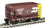 24' Minnesota Taconite Ore Car 4-Pack - Ready To Run -- Burlington Northern #95740, 95829, 95890, 96020