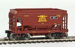 24' Minnesota Taconite Ore Car 4-Pack - Ready To Run -- Duluth, Missabe & Iron Range (T-Bird) #40000, 40004, 40024, 40034
