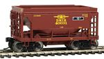 24' Minnesota Taconite Ore Car 4-Pack - Ready To Run -- Duluth, Missabe & Iron Range (T-Bird) #40003, 40013, 40026, 40031