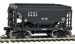 24' Minnesota Taconite Ore Car 4-Pack - Ready To Run -- Lake Superior & Ishpeming #9420, 9423, 9446, 9464
