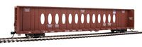 Walthers Mainline HO Scale 72' Centerbeam Flatcar with Opera Windows - Ready to Run -- Union Pacific(R) #273240