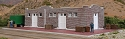Brick Mission-Style Santa Fe Freight House -- Kit - 9-1/2 x 6-1/2 x 2-1/2