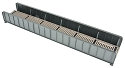 70' Single-Track Railroad Through Girder Bridge -- Kit - 9-3/4 x 2-3/8 x 1-5/16
