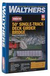 50' Single-Track Railroad Deck Girder Bridge -- Kit 6-7/8 x 1-3/16 x 1-5/16