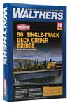90' Single-Track Railroad Deck Girder Bridge -- Kit - 12-7/16 x 1-3/16 x 1-1/2