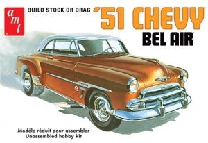 1/25 1951 Chevy Bel Air Plastic Model Kit