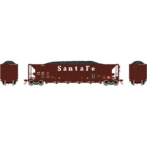 Athearn HO RTR 5-Bay Rapid Discharge Hopper, SF #85852