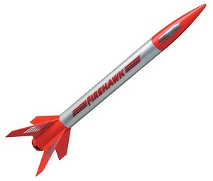 Firehawk Mini Rocket Kit E2X Easy-to-Assemble