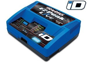 Charger, EZ-Peak® Live, 100W, NiMH/LiPo with iD® Auto Battery Identification